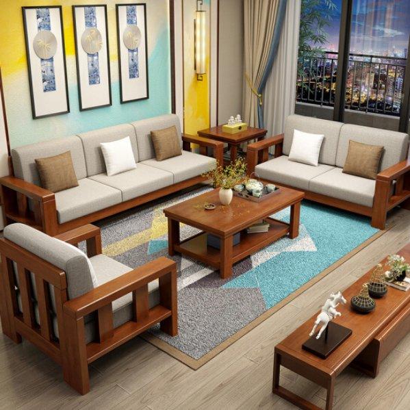 Buy Teak Wood Sofa Set Online Teaklab