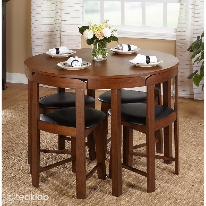 4 Seater Round Dining Set, Round Dining Set For 4