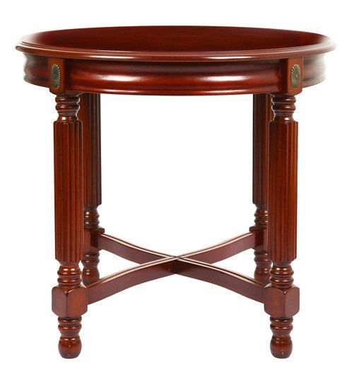 Buy Teak Wood Oval Coffee Table Online | TeakLab